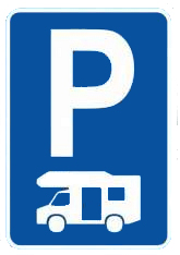 Placa de Parking de Caravanas